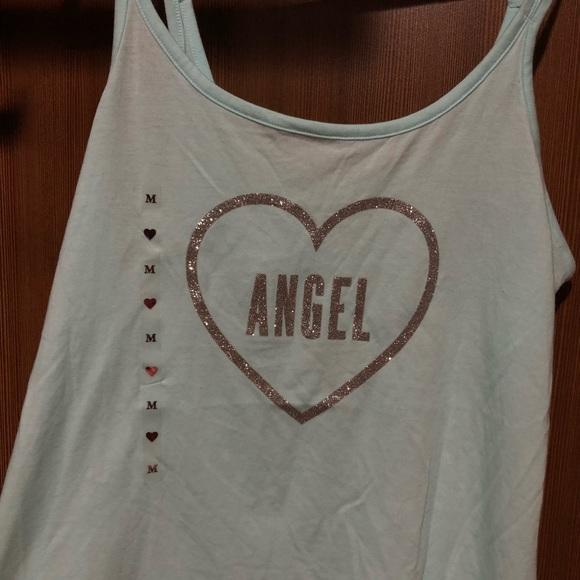 victorias secret pink vest t shirt cute size M brand new